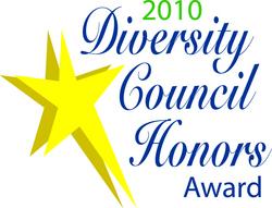 2010 Diversity Council Honors Award